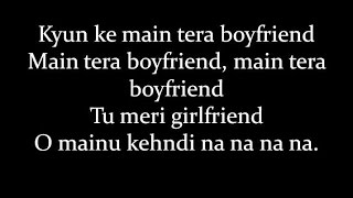 (LYRiCS)Main Tera Boyfriend Full Song Lyrical Video– Arijit Singh | Raabta HD