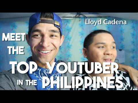 Meet the Top Youtuber in Philippines (Lloyd Cadena - Filipino Vloggers)