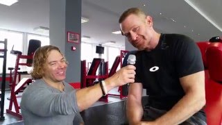 Endurance and physicality with Max Martini