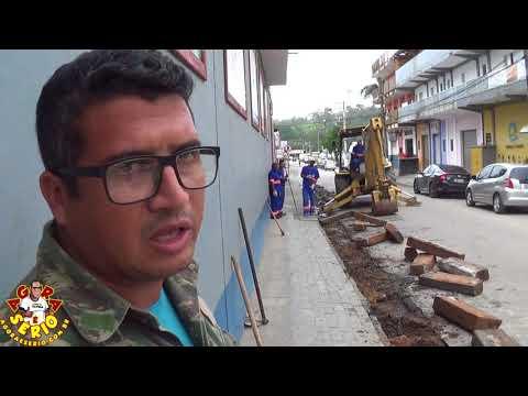 Começa a Pavimentação da Rua João Aquino Soares