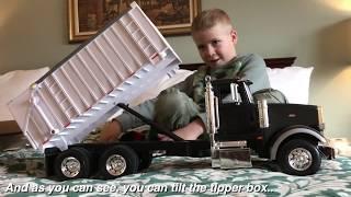 TRUCKS for Children ERTL Peterbilt 367 Bruder TRUCK Scale! Review by JACK
