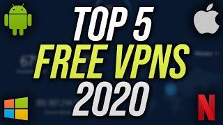 Top 5 Best FREE VPN Services! (2020)