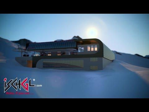 Ve skiareálu Ischgl spustí od zimy 2018/19 do provozu novou lanovku Gampenbahn E4