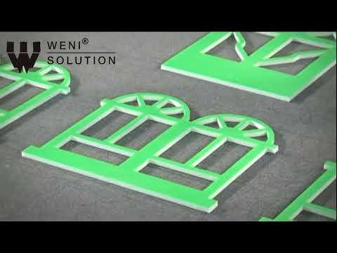 Wielofunkcyjny ploter tnąco-bigujący - WENI WB03II | Multifunctional Flatbed Cutter - WENI WB03II - zdjęcie