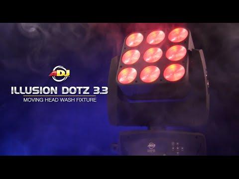 AMERICAN DJ Illusion Dotz 3.3 Inteligentní hlava