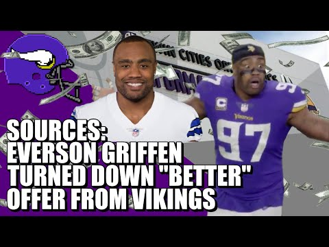 """SOURCES: Everson Griffen Turned Down """"Better"""" Offer from Vikings"""