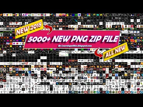 Download ( Part 3 ) New 2018 Png Zip File || All New Png