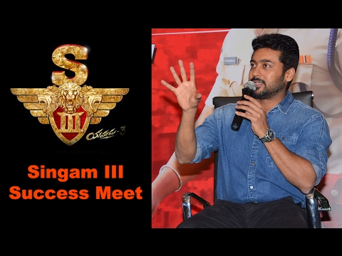 Singam 3 Success Meet