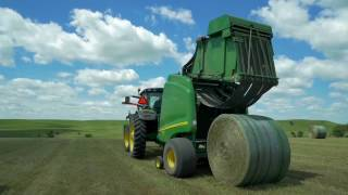 RFD TV - Keys to Making and Storing Better Round Bales using B-Wrap®