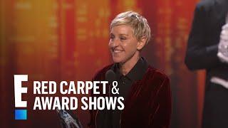Ellen Degeneres breaks the record for most People's Choice Awards! | E! People's Choice Awards