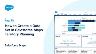 How to Create a Data Set in Salesforce Maps Territory Planning