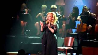 "Adele Royal Albert Hall "" Set Fire To The Rain"" + hilarious story before "" If hadn't been for love"""