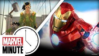 Marvel Props Auction! A Loki Comic! SDCC 2019! | Marvel Minute