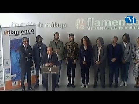 Presentación de la VI Bienal de Arte Flamenco de Málaga