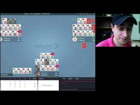 OFC Poker strategy