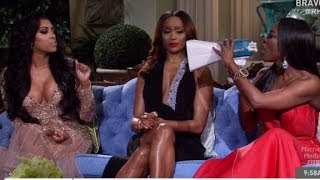 'Real Housewives' fight on stage