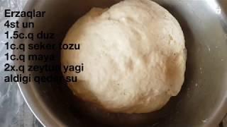 🔴 Əsil Pizza Xemiri. Italyan Pizza Xəmirinin Hazırlanması