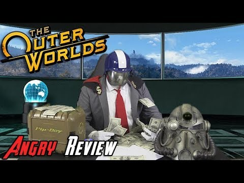 The Outer Worlds Angry Review - YouTube video thumbnail