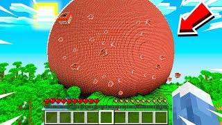 MINECRAFT 83,601,872 BLOCK TNT BALL (WITH AFTERMATH)