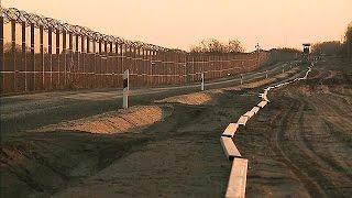 Ungarn baut einen zweiten Grenzzaun zu Serbien