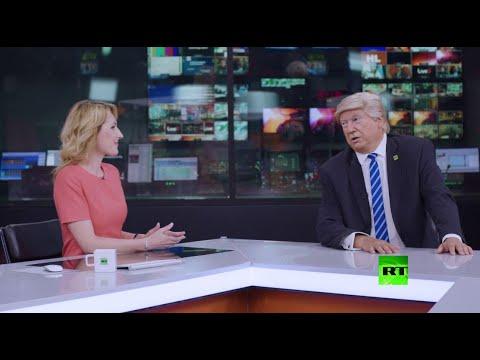 العرب اليوم - شاهد: قناة فضائية روسية تعرض وظيفة على الرئيس الأميركي