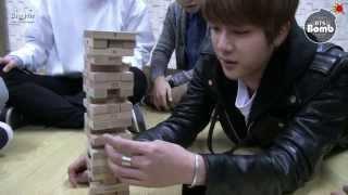 [BANGTAN BOMB] BTS Jenga championship thanks to Twitter