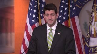 Ryan on Health Bill: