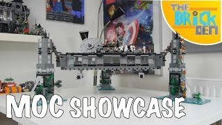 LEGO First Order Mon Cala Communications Base- MOC Showcase