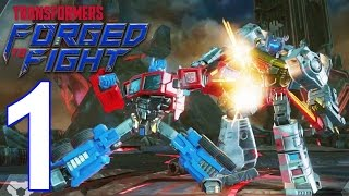 TRANSFORMERS: Forged to Fight - Gameplay Walkthrough Part 1 - ACT 1: Chapter 1 (iOS, Android)