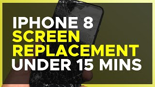How to REPLACE iPhone 8 SCREEN (LCD + Digitizer), Back GLASS Replacement