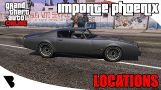 Imponte Phoenix Location GTA Online 2018