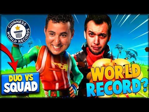 AVEC MICKALOW ON VISE LE WORLD RECORD ! ► FORTNITE