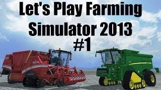 Farming Simulator 2013 S7E1 Pt2 So I altered the map a bit
