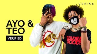 """Ayo & Teo """"Better Off Alone"""" Official Lyrics & Meaning 