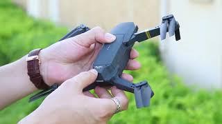 DroneX PRO Drone Setup Flight and 720P Folding FPV Camera Flight Test Review