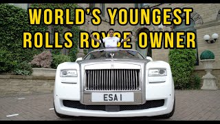 THE WORLD'S YOUNGEST ROLLS ROYCE OWNER !!!