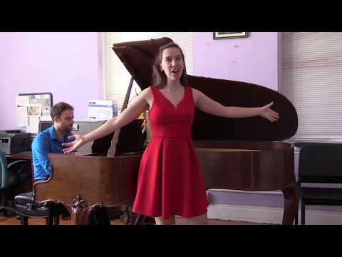 """""""Chacun le sait"""" from Donizetti's Le fille du Regiment"""
