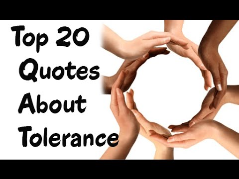 Top 20 Quotes About Tolerance & Diversity
