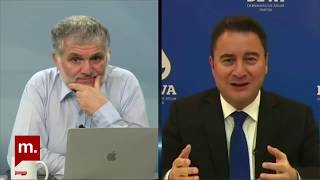 DEVA Partisi Genel Başkanı Ali Babacan, Ruşen Çakır\'ın sorularını yanıtlıyor
