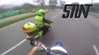 Persecución en la Autopista - Stunt Medellín 2015