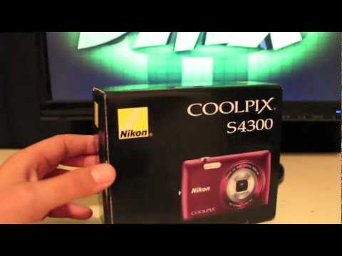 Nikon COOLPIX S4300 Unboxing and Quick Review