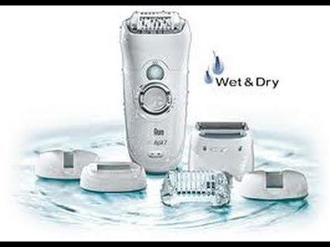 Braun Silk-epil 7 Pro 7681 Wet & Dry epilator Review & How to