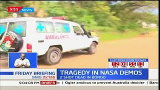 Two shot dead in Raila's town in Bondo during Anti-IEBC protests