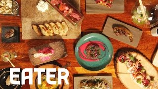 16 Courses in 60 Seconds at Scratch Bar - 60 Second Tasting Menu thumbnail