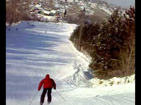 Видео: Видео горнолыжного курорта Альбатрос в Новосибирская область