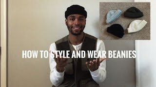 How to Style and Wear Beanies For Spring / Summer
