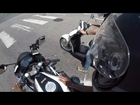 Marty's New Scooter   2018 Piaggio Liberty 150   Test Ride