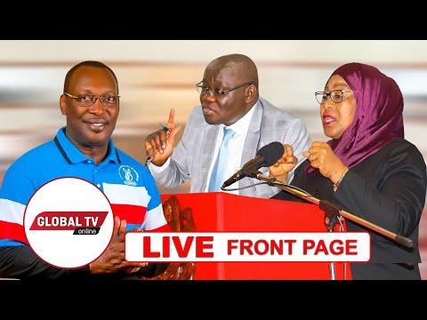 🔴#LIVE: CAG KICHERE ATISHIWA KIFO, AONGEZEWA ULINZI, MBOWE APATA MAPIGO NANE | FRONT PAG