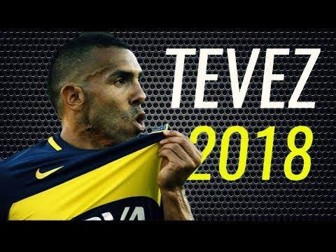 Carlos Tévez • 2018 • Boca Juniors • Magic Skills & Goals • HD