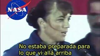 Esta Astronauta se desmayó al hablar de OVNI